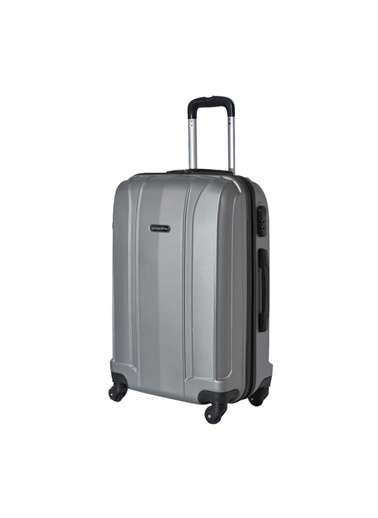 Travelsoft Valiz Gümüş